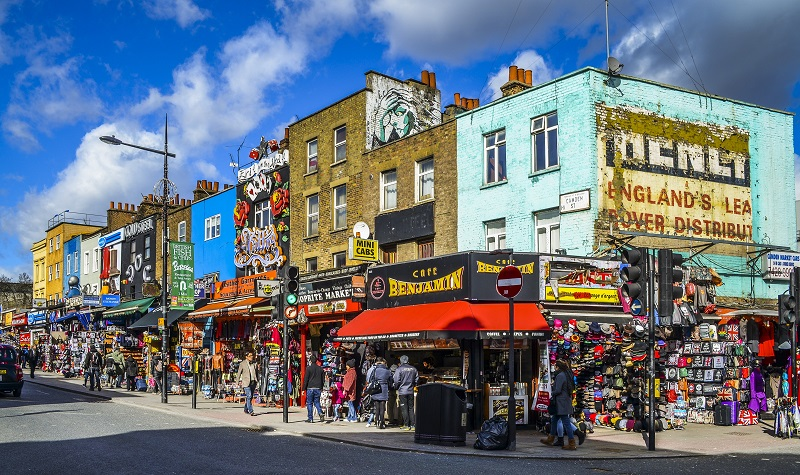 Camden Town em Londres