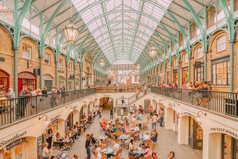 Região Covent Garden em Londres