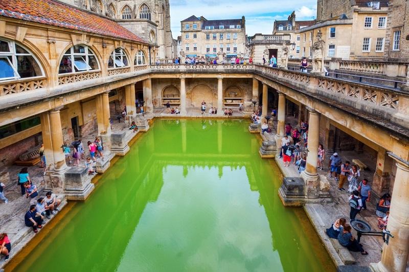 Banhos romanos em Bath