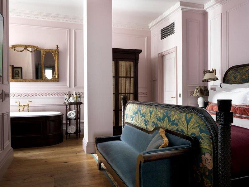 Quarto do Hotel The Ned em Londres
